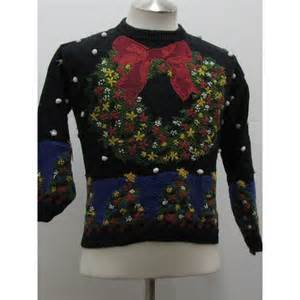 terribly tacky gallery ugly christmas sweater by rafaella hand knitted