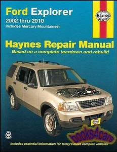 Ford Explorer Shop Manual Service Repair Book Haynes