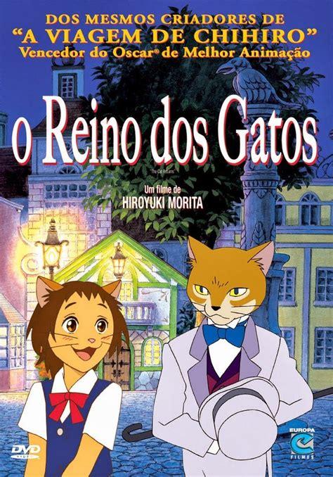 reino dos gatos filme  adorocinema