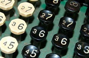Free Number Crunch 3 Stock Photo - FreeImages.com