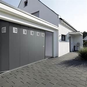 Porte De Garage Sectionnelle Latérale : portes de garage porte sectionnelle lat rale hst hormann les mat riaux ~ Melissatoandfro.com Idées de Décoration