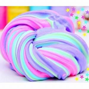 Fabriquer son Fluffy slime Cléopatre Colles & Couleurs