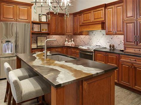 alternative kitchen sink ideas beyond granite 20 kitchen countertop alternatives hgtv