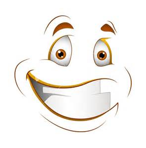 Smile Face Cartoon Character Smiling