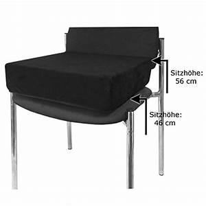 Sitzkissen Für Sessel : kissen zur sitzerh hung 10 cm hoch sitzkissen aufstehhilfe f r sessel sofa stuhl m ~ Markanthonyermac.com Haus und Dekorationen