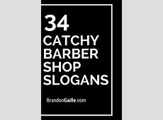 35 Catchy Barber Shop Slogans and Taglines Barber shop