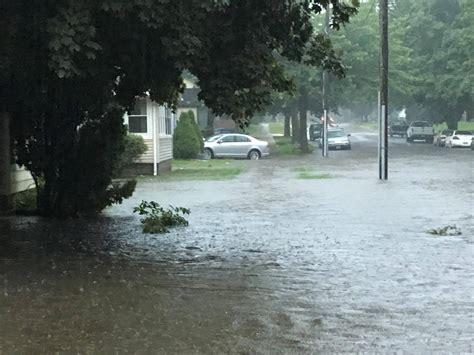 heavy rain flooding  july