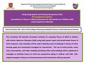 Hong Kong Speech and Hearing Symposium 2016: Pre-Symposium ...