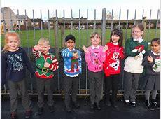 Christmas Jumper Day 2017 Kennington Primary School