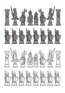Printable Chess Set Pieces