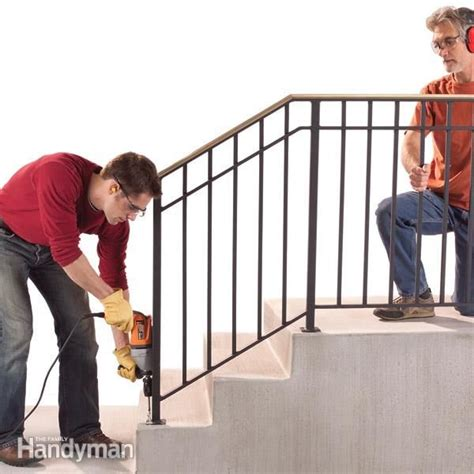 25 best ideas about outdoor stair railing on