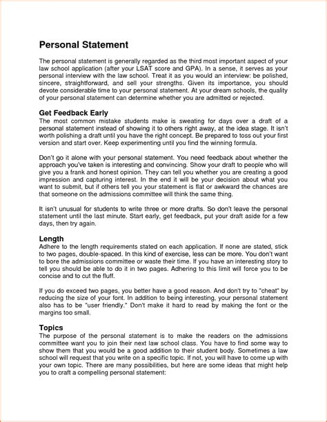 Write A Great Personal Trainer Resume by 11 What Does A Personal Statement Look Like Budget Template Letter