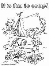 Coloring Camping Reading Printable Campfire Tent Preschool Kleurplaat Activities Friends Kleurplaten Sheets Camp Theme Colorir Bee Zomer Reader Malvorlagen Inspirational sketch template