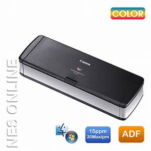 canon p 215 portable document scanner duplex scanning adf With adf document scanner