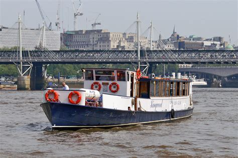 Boat Service On Thames by Kingwood River Thames Boat Hire Joseph Mears King