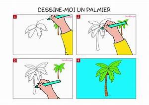 apprendre a dessiner un palmier en 3 etapes With dessiner plan de maison 12 palmier