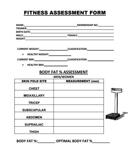 Comprehensive Health Assessment Program Template by Search Results For Fitness Test Templates Calendar 2015