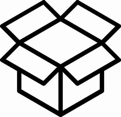 Empty Box Icon Svg Icons Vector Transparent