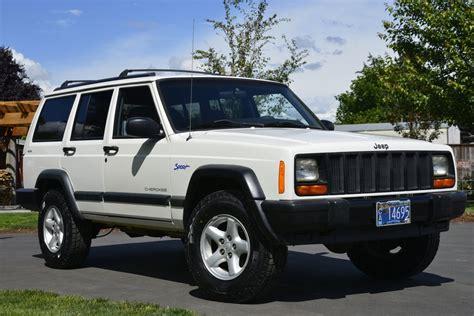 jeep xj no reserve 1997 jeep xj sport for sale on bat