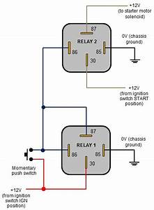 12v Relay Switch Wiring Diagram