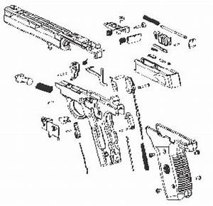 Smith  U0026 Wesson 22a Pistol Parts List  U0026 Exploded View