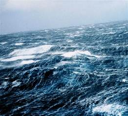 Space in Images - 2011 - 06 - Rough sea