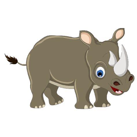 Cartoon Rhino Clip Art Free