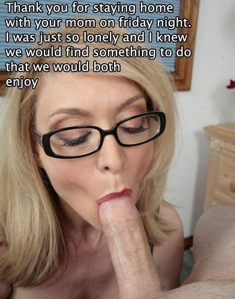 Blonde Mom Son Blowjob Captions New Img