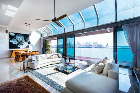 sentosa cove homes  exhibit modern luxury  singapore home decor singapore