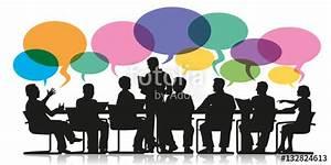 """""""réunion - bulles - discussion - travail d'équipe ..."""