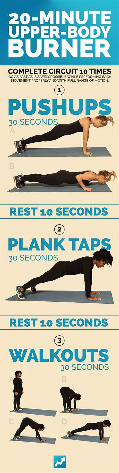 Workouts Workout Buzzfeed Total Upper Equipment Gym