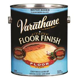 shop varathane floor finish semi gloss water based 128 fl oz polyurethane at lowes