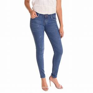 Alta Womenu0026#39;s Skinny Jeans Designer Fashion Stretch Pants Paint Splash Denim | eBay