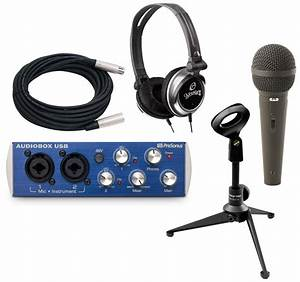 Pro Audio Presonus Audiobox Usb 2 Channel Recording System