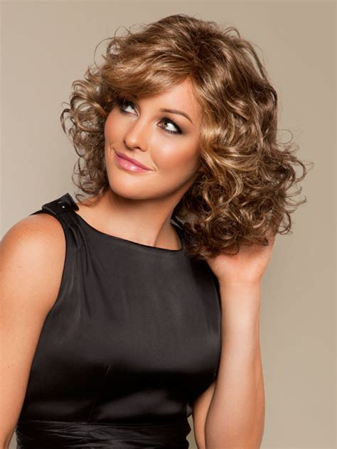 elegant curly hairstyles  women olixe style magazine  women