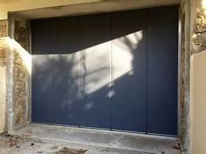 Porte De Garage Sectionnelle Latérale : porte de garage yvelines porte automatique sectionnelle 78 ~ Melissatoandfro.com Idées de Décoration