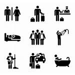 Pictograms Hotel Icon Human Clipart Icons Vector