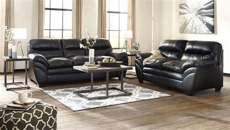 tassler durablend black living room set  ashley