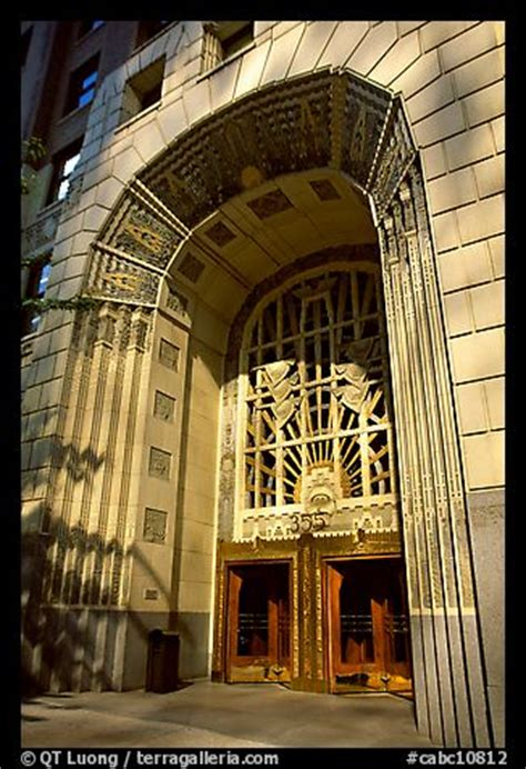 picturephoto art deco entrance  burrard street
