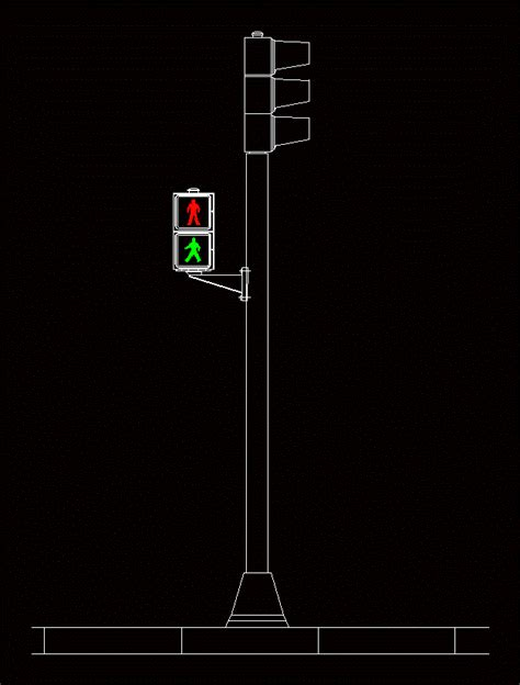 traffic light  autocad  cad   kb