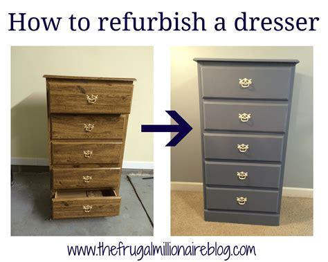 My Refurbished Dresser  The Frugal Millionaire