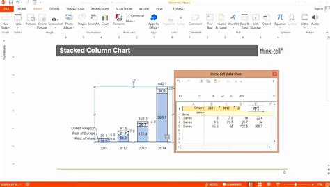excel waterfall chart template  negative values