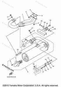 Yamaha Side By Side 2006 Oem Parts Diagram For Exhaust