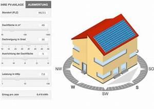 Ertrag Photovoltaik Berechnen : solarstromrechner w quadrat ~ Themetempest.com Abrechnung