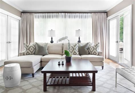 Greige Living Room  Home Decor  Pinterest  Living Rooms