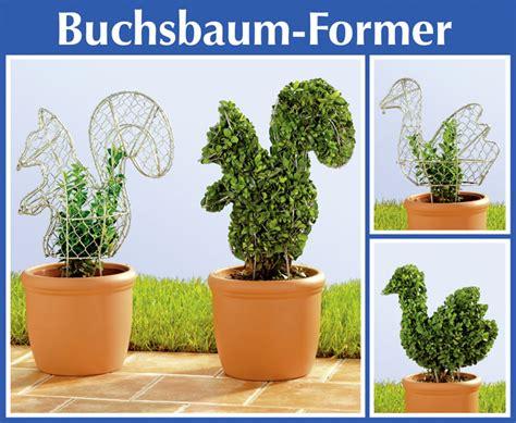 buchsbaum balkon 2er set wenko buchsbaumformer eichhörnchen vogel buchsbaum figur former form ebay