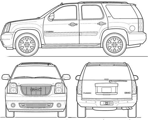 download car manuals pdf free 2009 gmc yukon seat position control 2009 gmc yukon suv blueprints free outlines