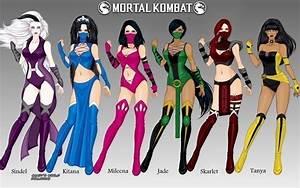 Mortal Kombat: Women of Edenia/Outworld by LadyRaw90 on ...