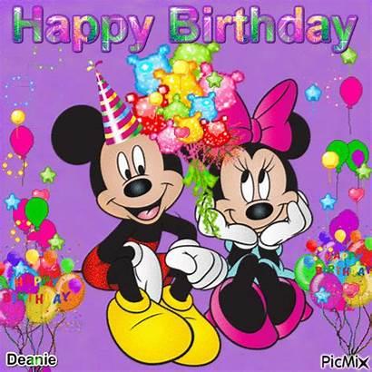 Minnie Mickey Birthday Happy Mouse Picmix Disney