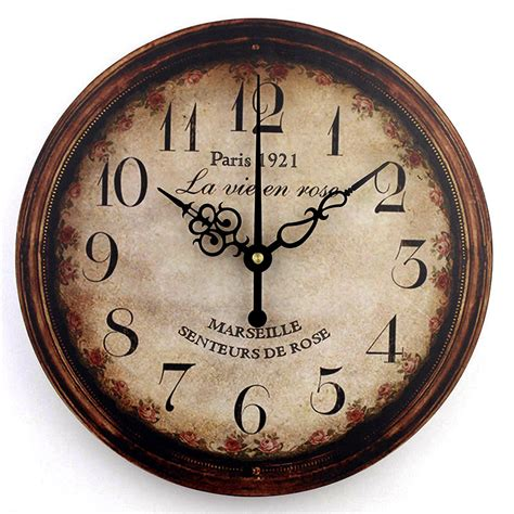 Modern clocks are minimal in style but are still unique and creative. vintage large decorative wall clock home decor fashion ...